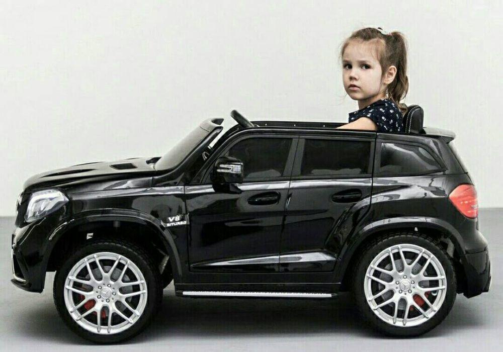 Masinuta pt copii cu 2 locuri Mercedes GLS63 AMG / 4 motoare/ LUCIOS