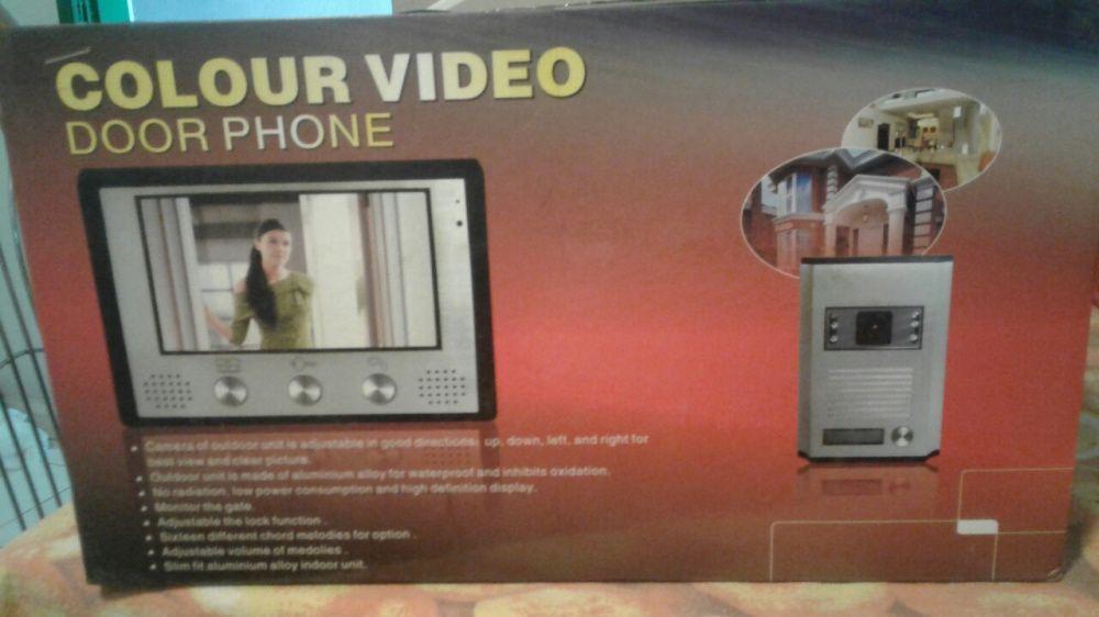 Campanhia com video chamada + fechadura profissional