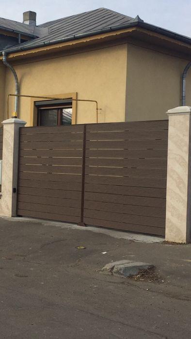 Gard din W P C Lemn Compozit