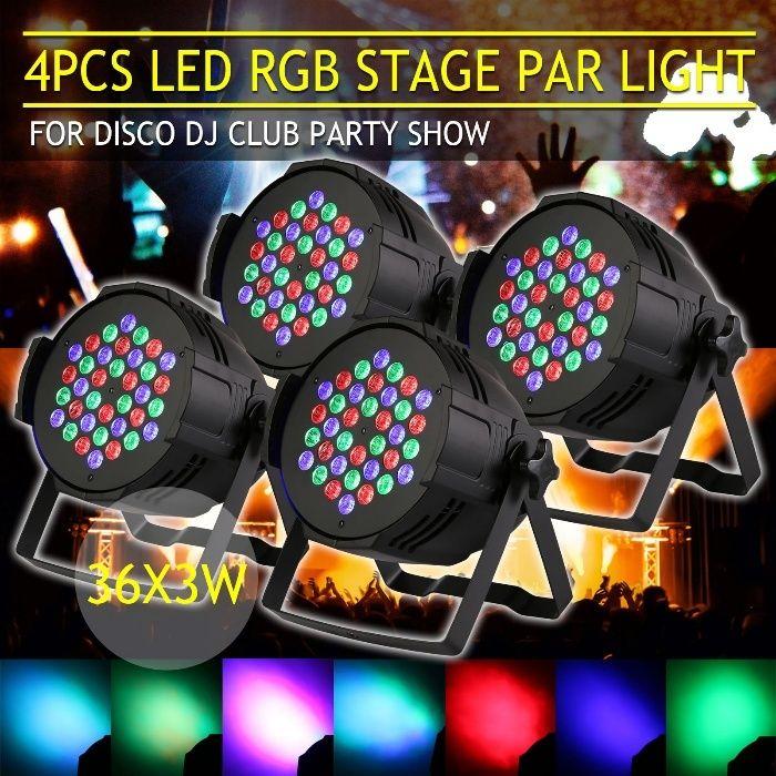 Par Led RGB 36x3W ( 108W ) Lumini dj disco joc lumini DMX