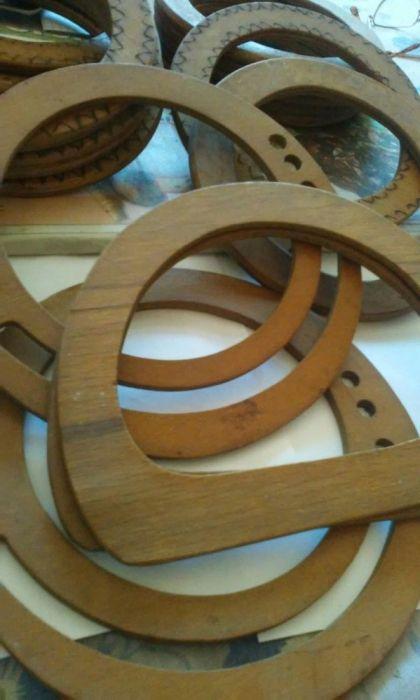 Toarte de lemn - pt.plase