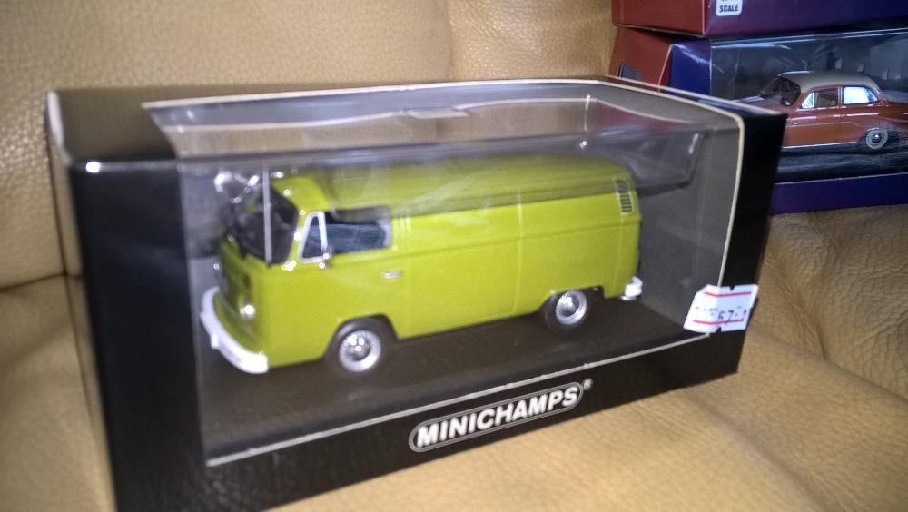 Machete Minichamps 1/43 VW T 2 Transporter + altele