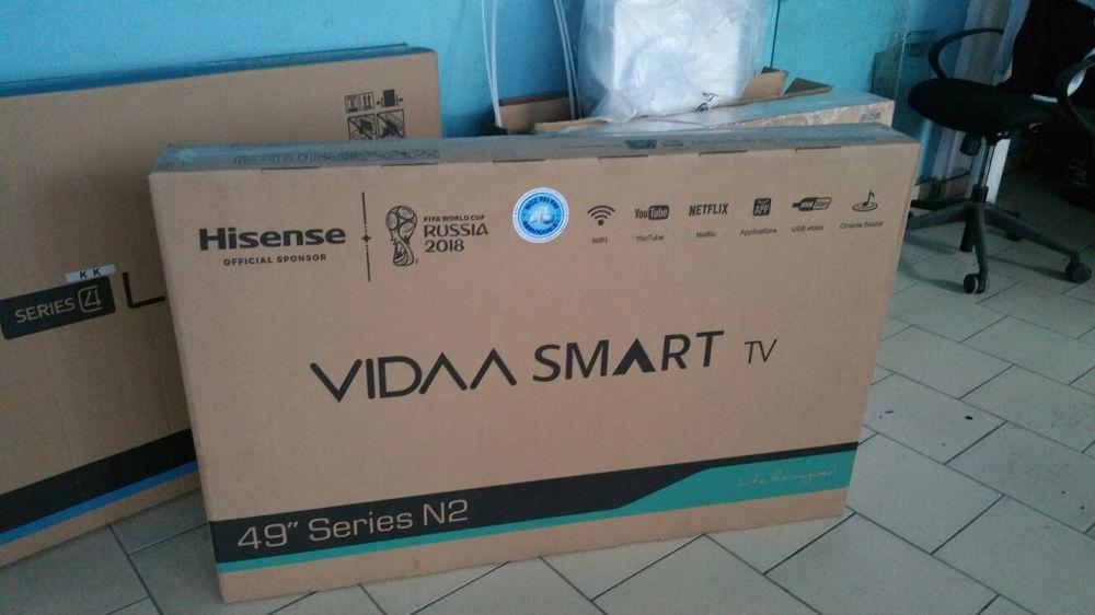 Tvs hisense LED FULL HD SMART 49 polegadas novas