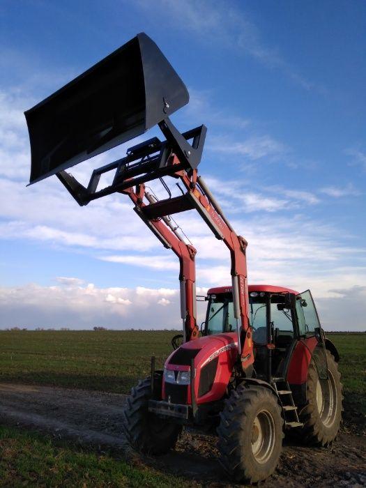 Cupa incarcator tractor cu descarcare la inaltime