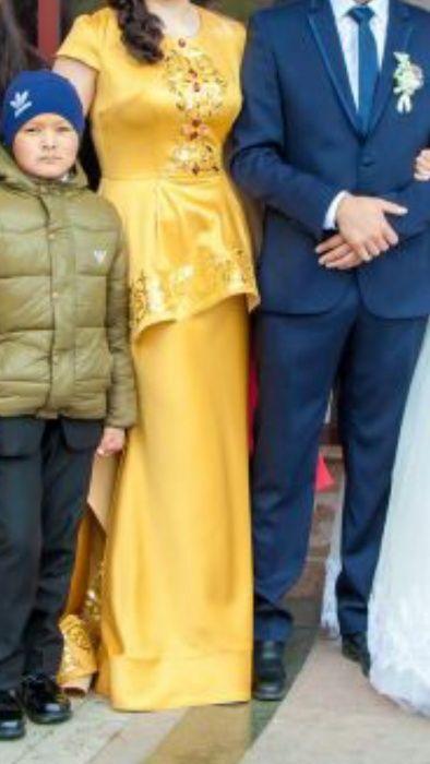 Продам платье с казахским орнаментом