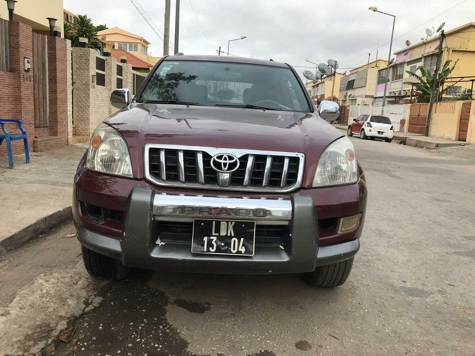 Prado vx Luanda da sorte 103 mil km, Diesel Apenas com problema no Ac