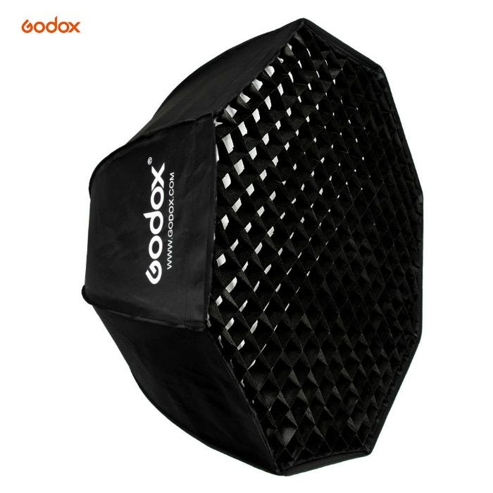 Softbox tip octobox Godox 80cm (octabox) cu montura Bowens