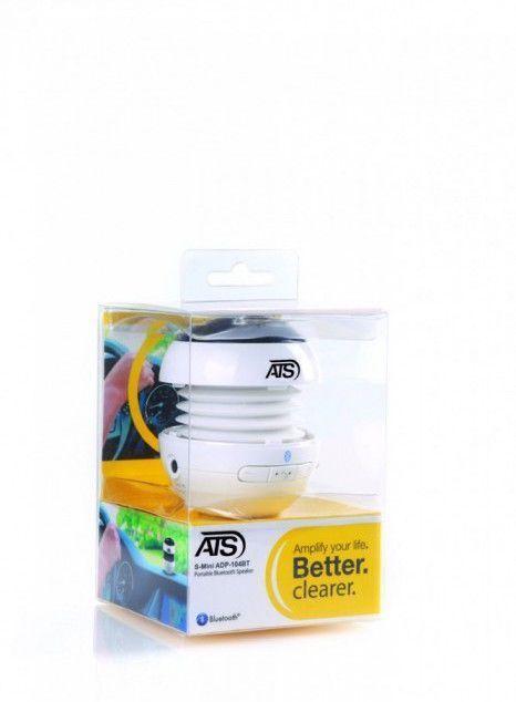 ATS Boxa S-Mini Bluetooth ADP-104BT Alb