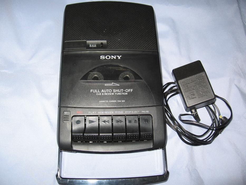 Sony casetofon recordabil