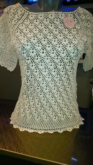 bluza hand-made crosetata
