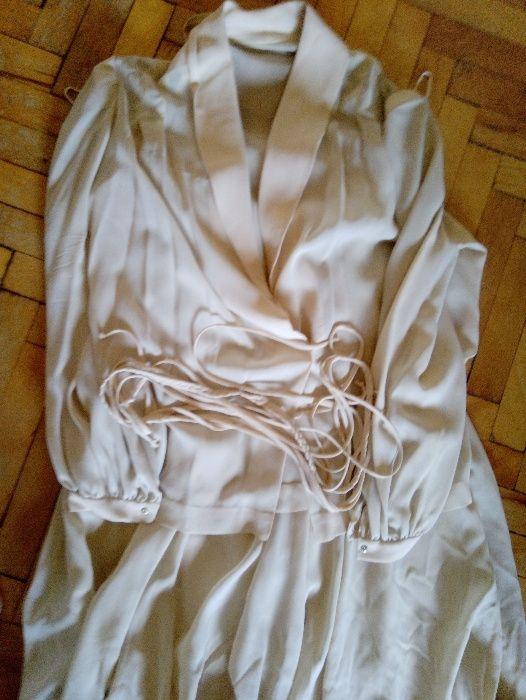 Рокля с жакет, 100% коприна, размер S