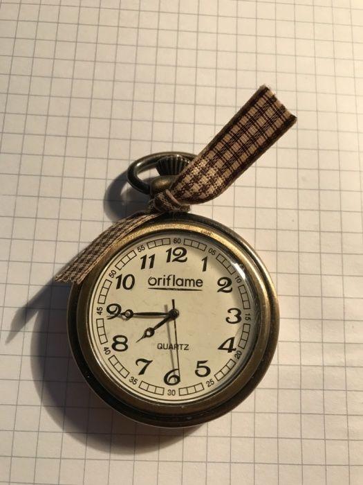 Ceas vintage de buzunar marca Oriflame