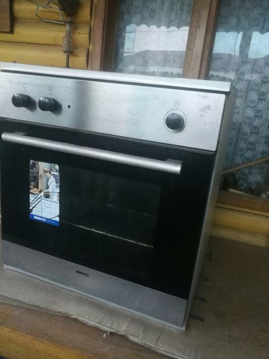 BEKO cuptor INOX incorporabil pe gaz