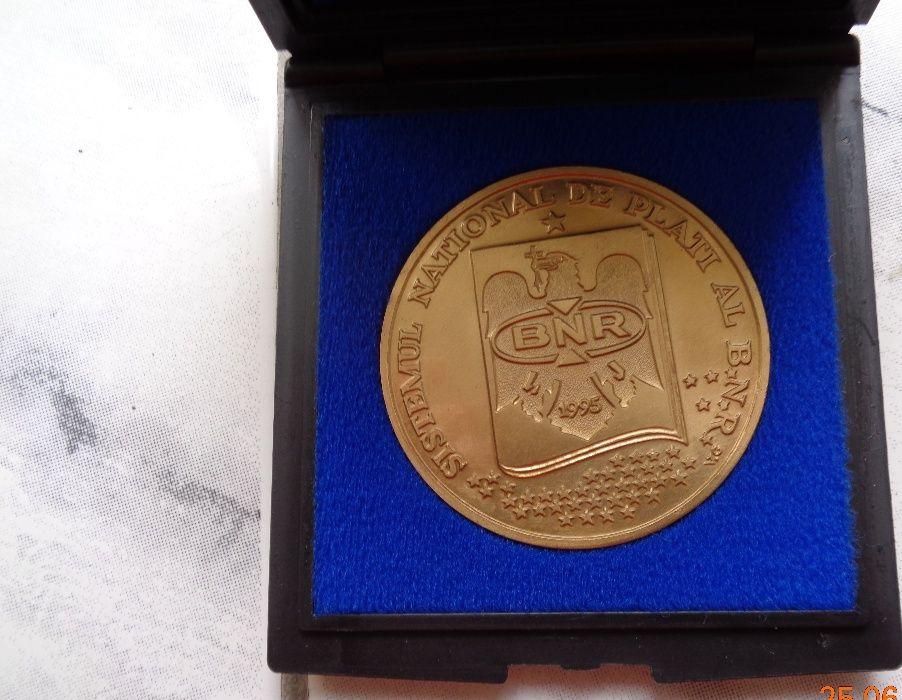 medalie BNR cu sistemul de plăți 1995