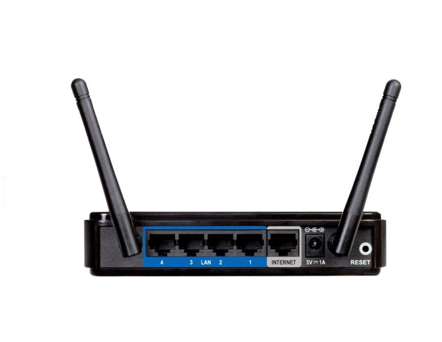 Router Wireless N 300Mbps D-Link DIR-615 cu 4 porturi 10/100 ca nou