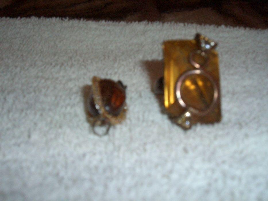 Set Inel +Medalion Chilimbar Vechi Inel Arama (schimb)