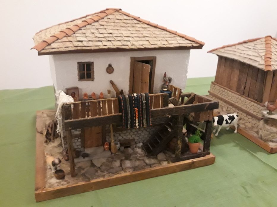 Възрожденска къща Макет Диорама