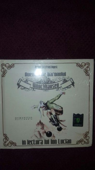 Vand cd audio Aventurile baronului Munchhausen