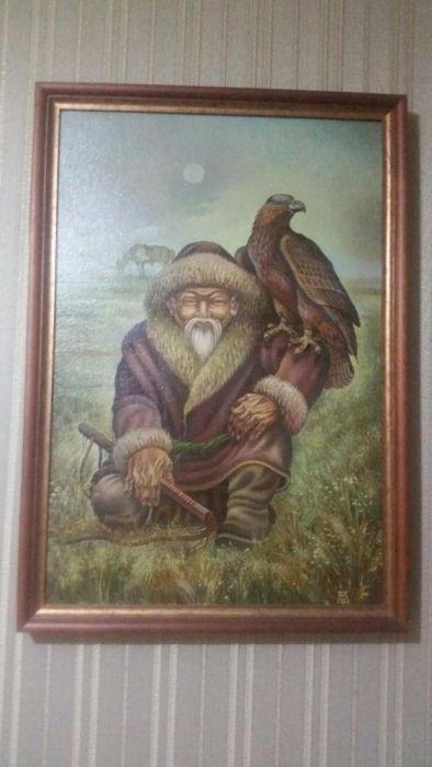 Картина Казахстанского художника