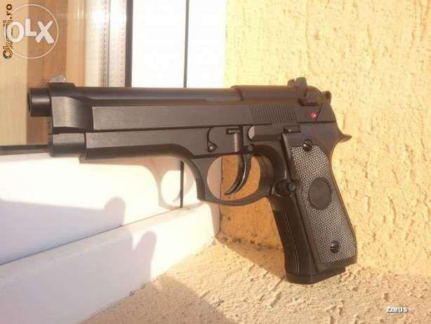 Pistol FF. PUTERNIC Co2(Semi Metal)+BONUSbile Airsoft cu Aer Comprimat
