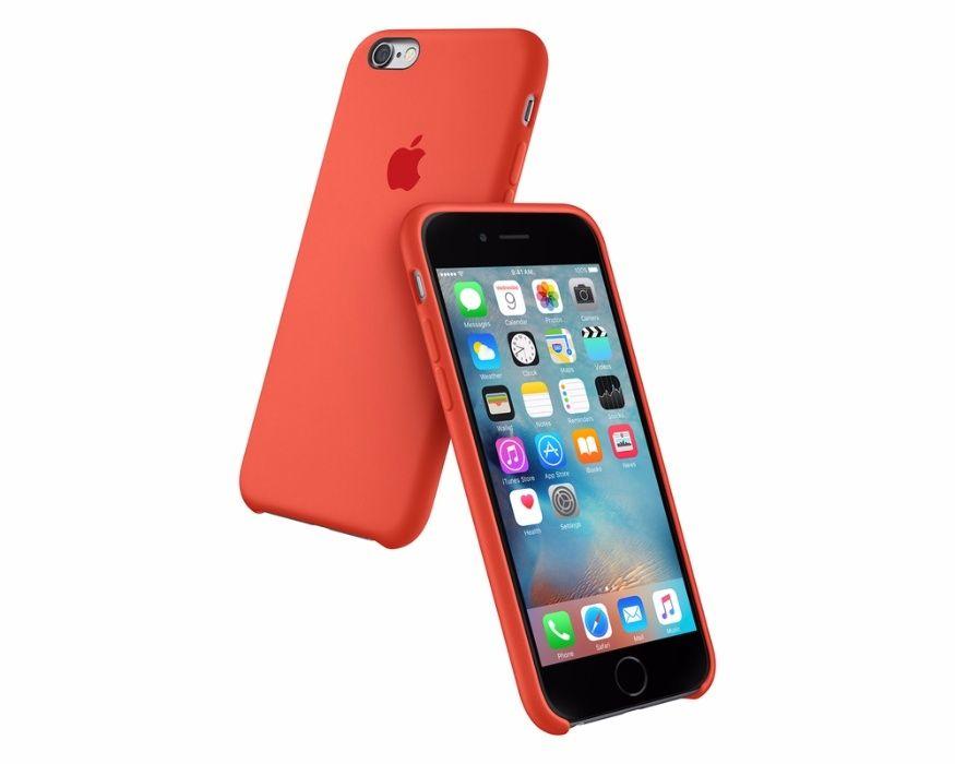 Силиконов калъф мат кейс Apple IPhone 6S, 6 Plus, 7, 7 Plus, 8, 8+, X