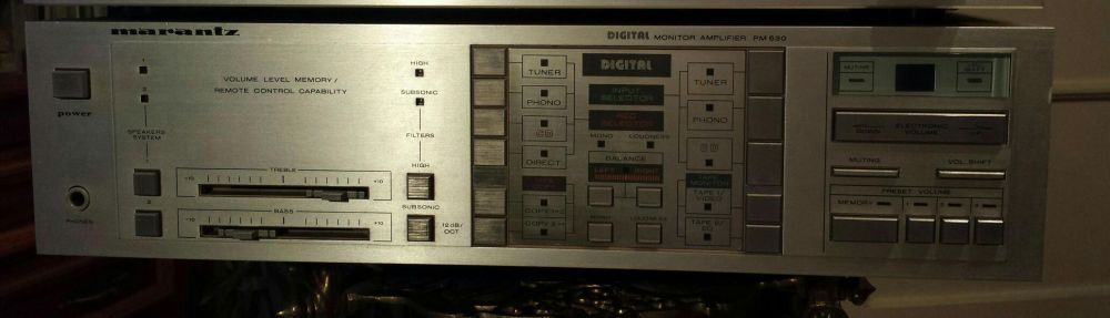 Marantz amplifier PM 630