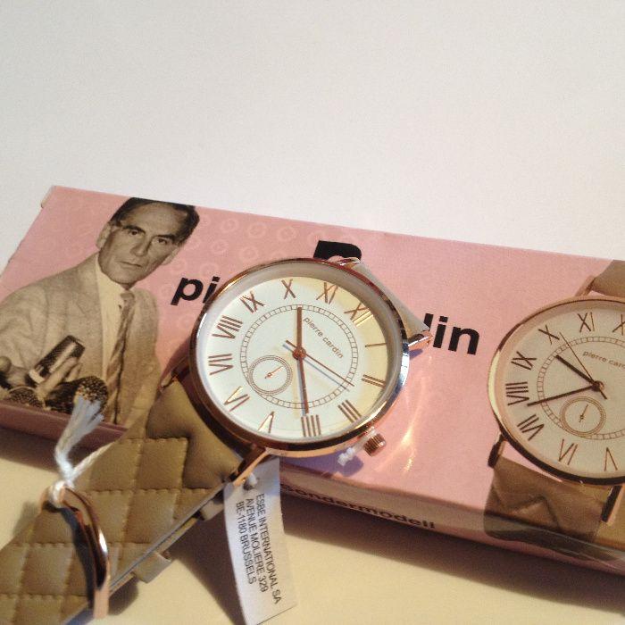 Pierre Cardin ceas de mână brățară de piele NOU LIMITED EDITION