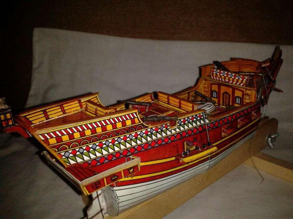 Macheta corp galion englez pentru diorama corabie