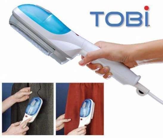 Fier de calcat cu aburi vertical portabil Tobi