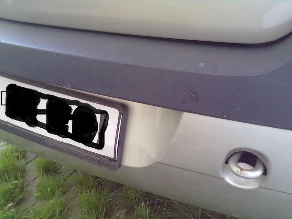 Bara spate Dacia Logan 2005