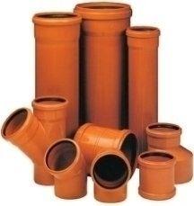 Трубы и фитинги для канализации DN 160 Рыжая