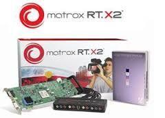Vand Matrox RT X2, placa de editare profesionala video-audio FullHD