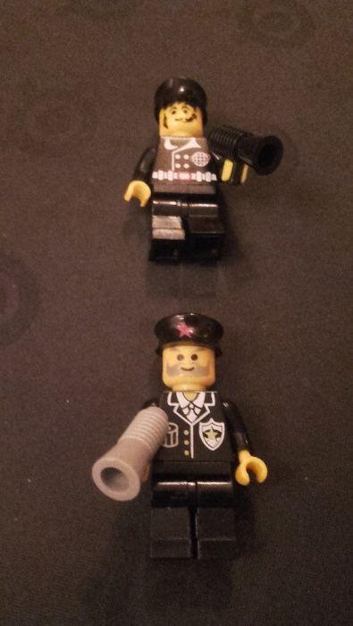SET Figurine tip Lego Politisti uniforma neagra