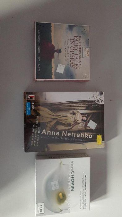 Vand DVD-ri si CD-uri muzica clasica, rock, opera...UNICE, DEOSEBITE!