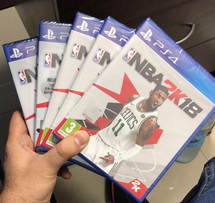Jogos ps4 NBA 2k18 selados