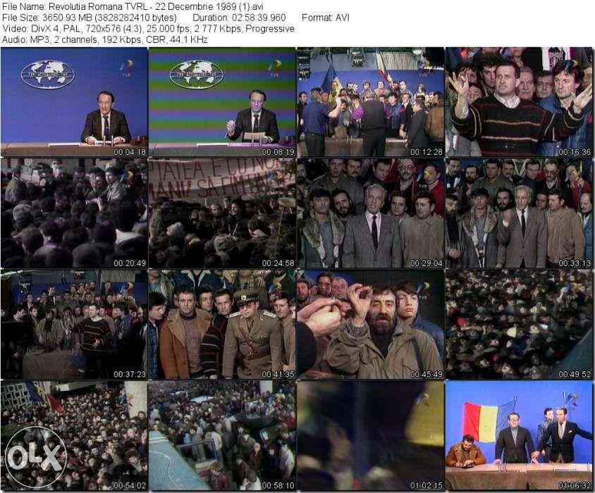 Revolutia Romana 1989 In Direct - Transpuneri digitale din casete Beta