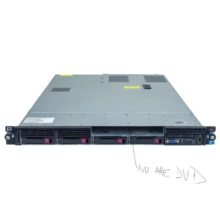 HP Proliant DL360 G6 2xXeon L5520, 16 GB DDR3, 4x146GB HDD 2.5 in