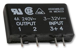 Releu SSR,Input 3-32VDC, Output 240VAC,4A
