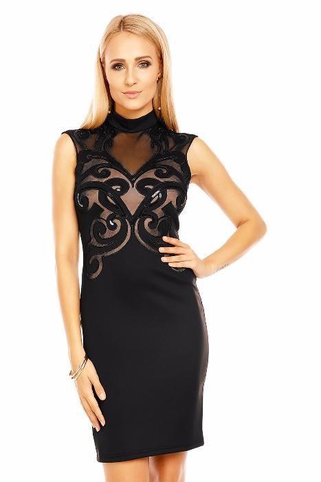 Rochie neagra eleganta/de ocazie