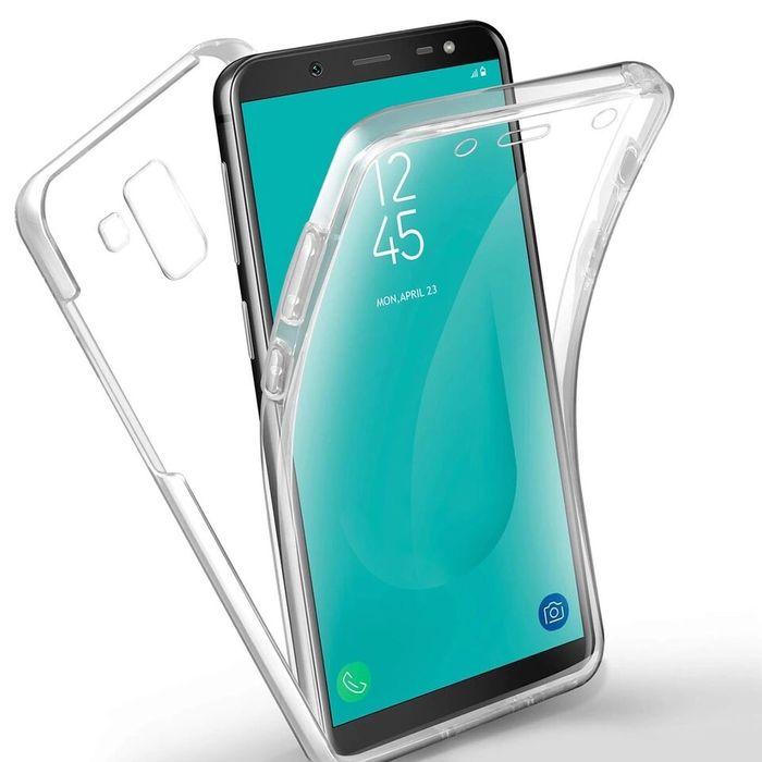 Samsung J4 J6 Plus 2018 - Husa 360 Ultra Slim Transparenta Din Silicon