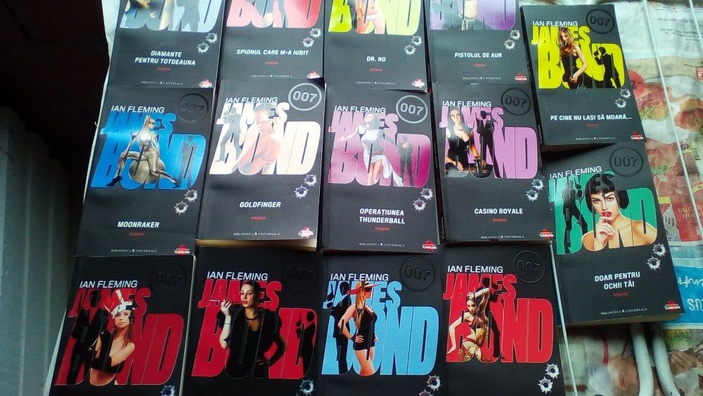 Colectia Completa James Bond