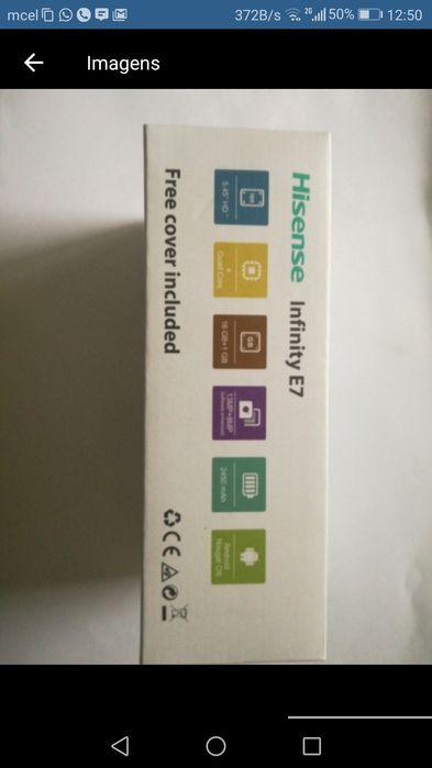Hisense Infinity e7 com garantia