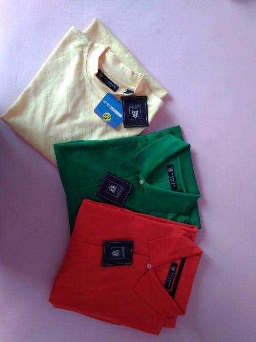 Намалени Oxford Golf - мъжки блузи с къс ръкав
