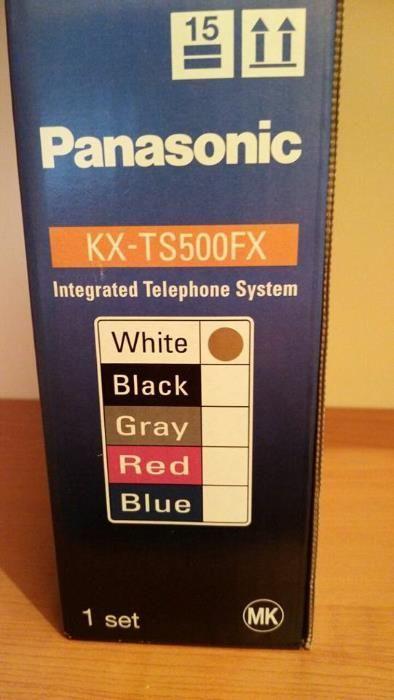 Телефон Panasonic KX-TS500FX Чисто нов, неразопакован гр. Шумен - image 2