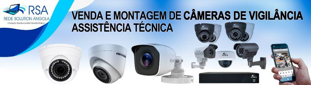 promoção 4 câmaras + DV-R + Disco Duro + Montagem