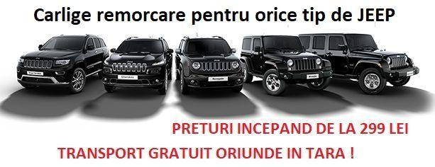 Carlige remorcare Jeep Grand Cherokee, Renedade, Wrangler, Cherokee