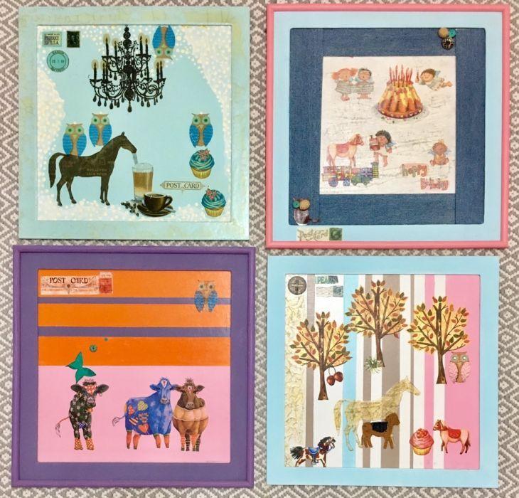 Tablouri handmade pentru camera copilului