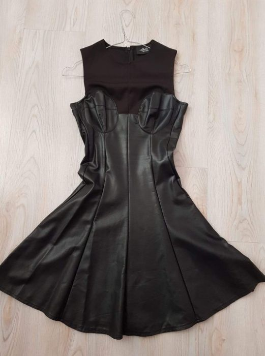 Кожена рокля Nikole collection гр. София - image 1