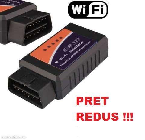 Elm327 Wi Fi Wifi 25k80 chip Interfata Diagnoza Universala Tester Auto