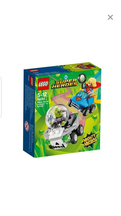 "LEGO Super Heroes 76094 Mighty Micros "" Supergirl contra Brainiac"""